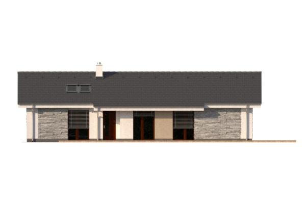 Projekt domu - Bungalov 1280