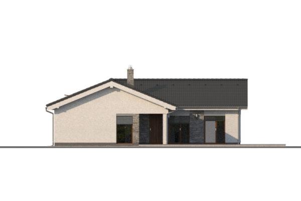 Projekt domu - Bungalov 1371