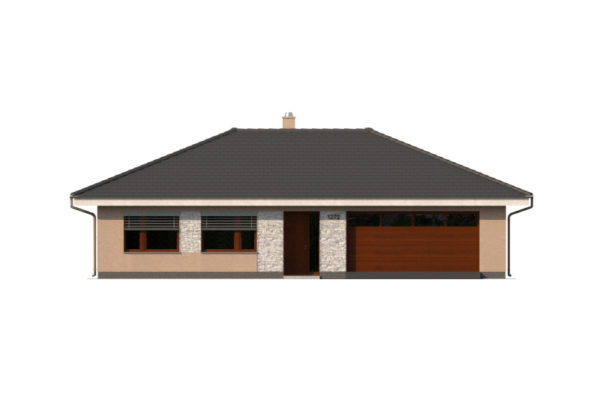 Projekt domu - Bungalov 1272