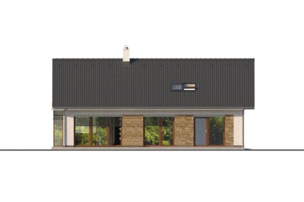 Projekt domu - Bungalov 1279
