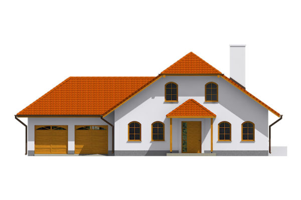 Projekt domu - Klasik 135