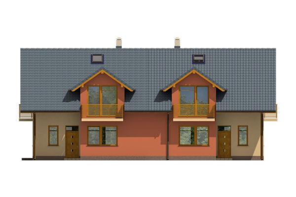 Projekt domu - Dual 038