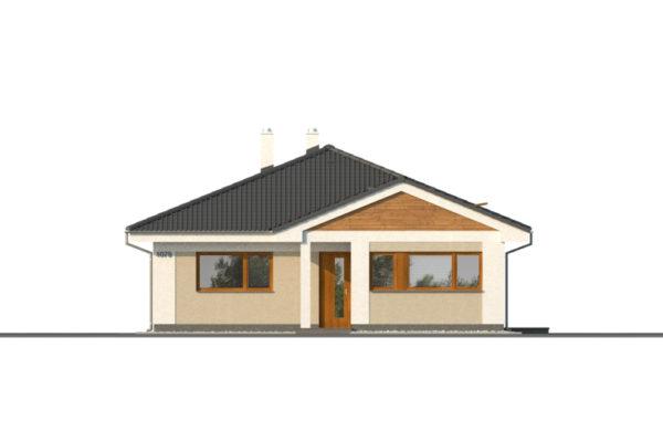 Projekt domu - Bungalov 1079