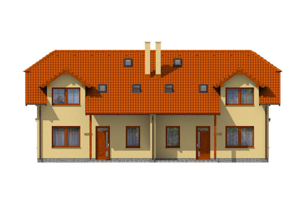 Projekt domu - Dual 423