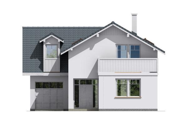 Projekt domu - Aktual 039