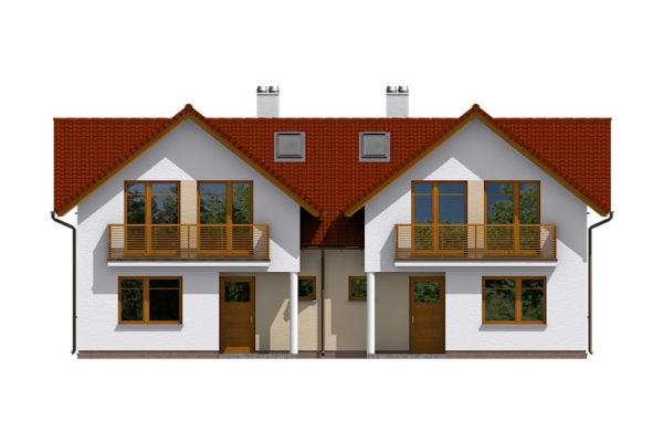 Projekt domu - Dual 523