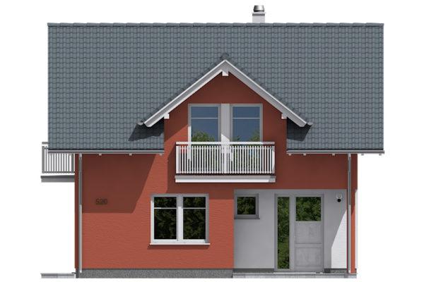 Projekt domu - Aktual 520