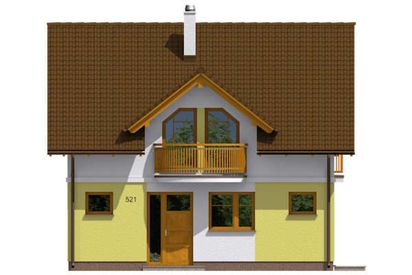 Projekt domu - Aktual 521