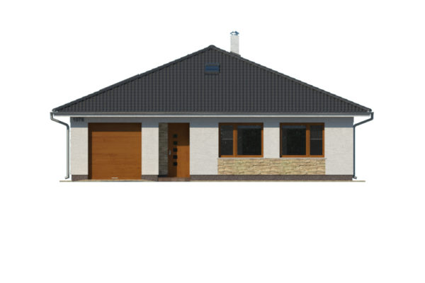 Projekt domu - Bungalov 1076