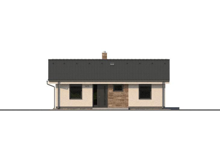Projekt domu - Bungalov 1475