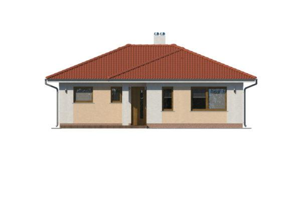 Projekt domu - Bungalov 1078