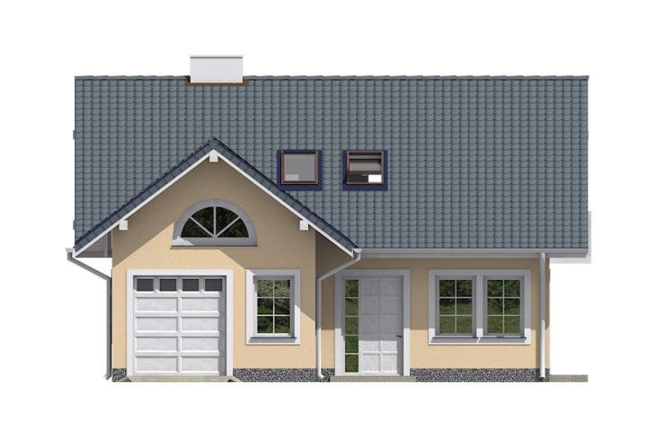 Projekt domu - Dominant 124