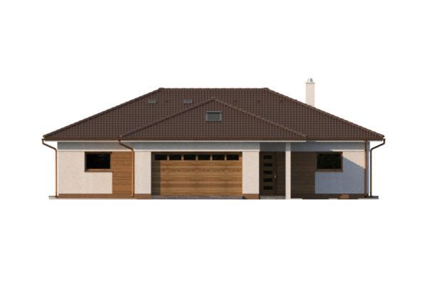 Projekt domu - Bungalov 1278