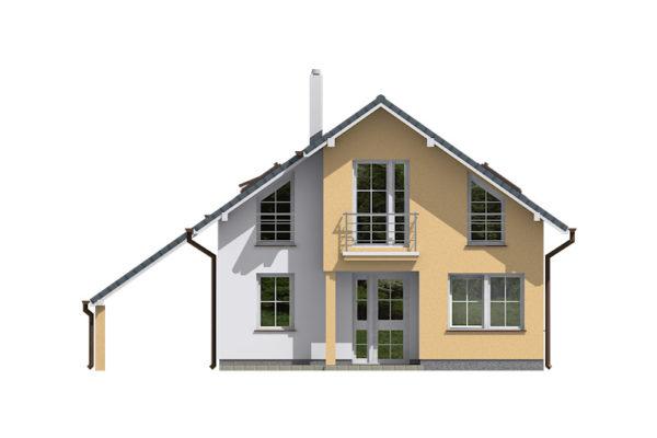 Projekt domu - Aktual 037