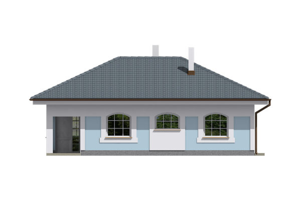 Projekt domu - Bungalov 067