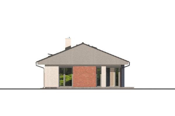 Projekt domu - Bungalov 1277