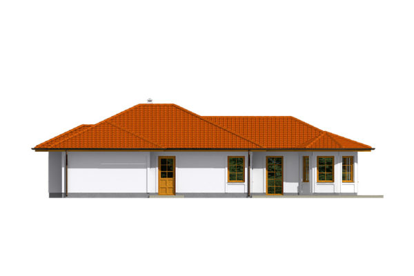 Projekt domu - Bungalov 085