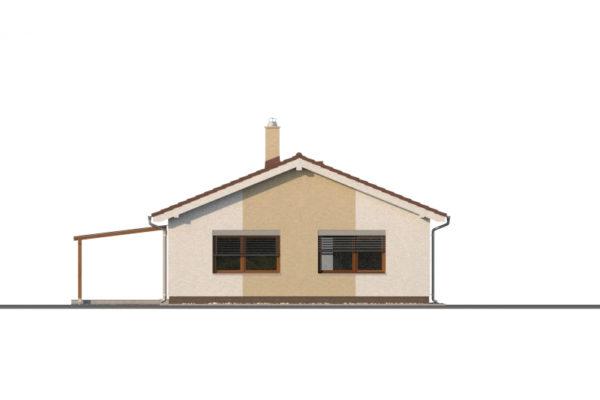 Projekt domu - Bungalov 1373