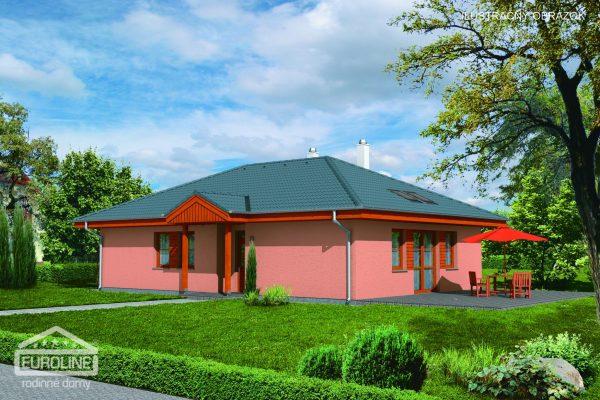 Projekt domu - Bungalov 075