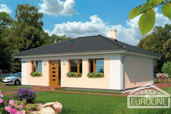 Projekt domu - Bungalov 1072