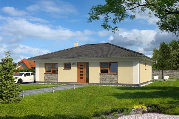 Projekt domu - Bungalov 1073