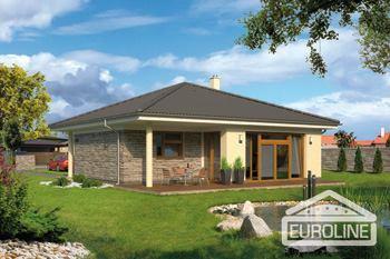 Postavený dům - RD Bungalov 1075