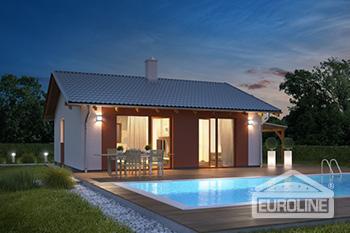 Postavený dům - Bungalov s-1407
