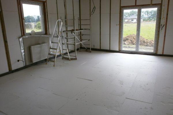 Výstavba RD Chomutov-výstavba domu na klíč -ÚED-Úsporně energetický dům-výplň modulů vatou | Betonové podlahy také hotovy - Betonové podlahy také hotovy