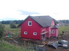 Dům je kompletně dokončen a připraven na předání
