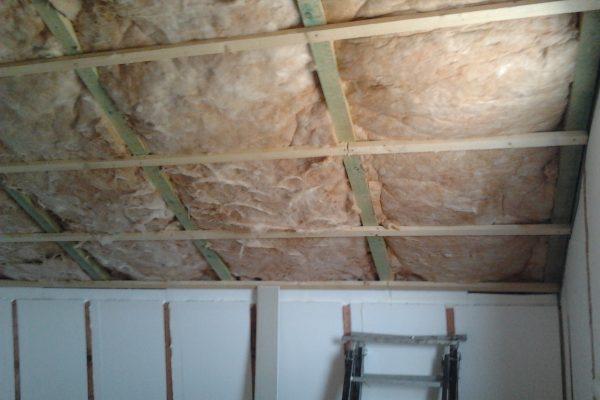 Výstavba RD Chomutov-výstavba domu na klíč -ÚED-Úsporně energetický dům-výplň modulů vatou | Zateplování  podkroví - Zateplování  podkroví