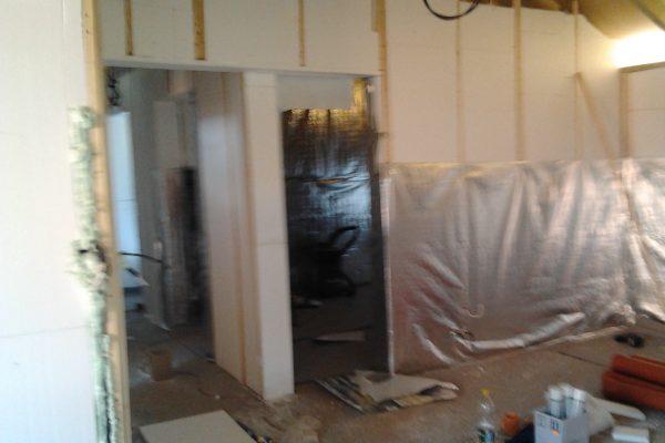 Výstavba RD Citice-výstavba domu na klíč !! Detailní fotogalerie stavby  !! | aplikace reflexní ALU odrazivé folie - aplikace reflexní ALU odrazivé folie