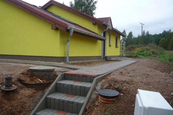Výstavba RD Citice-výstavba domu na klíč !! Detailní fotogalerie stavby  !! | Hotový dům se zpevněnými plochami ,připravený na předání zákazníkovy - Hotový dům se zpevněnými plochami ,připravený na předání zákazníkovy