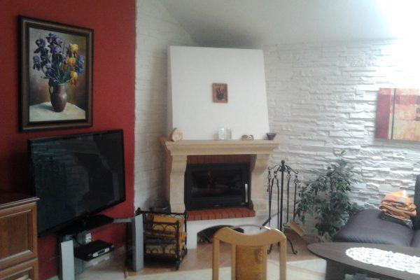 Výstavba RD Citice-výstavba domu na klíč !! Detailní fotogalerie stavby  !! | krb vytváří dokonalou atmosféru a výborně zapadá do prostředí obývacího pokoje. - krb vytváří dokonalou atmosféru a výborně zapadá do prostředí obývacího pokoje.