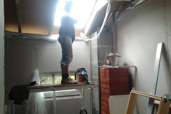 Výstavba RD Citice-výstavba domu na klíč !! Detailní fotogalerie stavby  !! | montáž střešních oken - montáž střešních oken