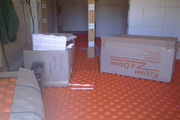 Výstavba RD Citice-výstavba domu na klíč !! Detailní fotogalerie stavby  !! | Rozvod podlahového vodního vytápění - Rozvod podlahového vodního vytápění