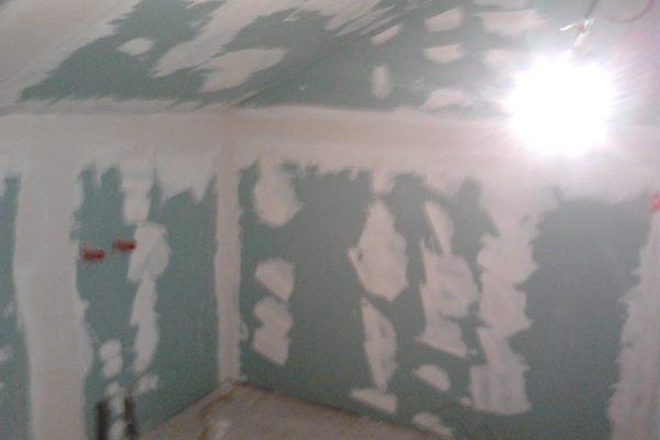 Výstavba RD Citice-výstavba domu na klíč !! Detailní fotogalerie stavby  !! | tmelení sádrokartonových konstrukcí - tmelení sádrokartonových konstrukcí
