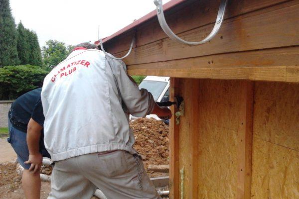 Výstavba RD Citice-výstavba domu na klíč !! Detailní fotogalerie stavby  !! | vše je utěsněno-bez tepelných mostů.Aplikace climatizeru foukání pod tlakem 50kg/m3 - vše je utěsněno-bez tepelných mostů.Aplikace climatizeru foukání pod tlakem 50kg/m3