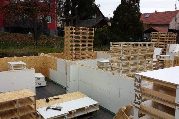 Výstavba RD Karlovy Vary II-dřevostavba domu svépomocí | 13 - 13