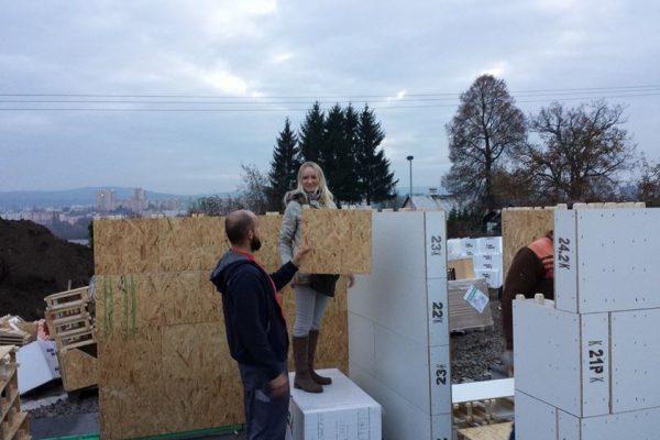 Výstavba RD Karlovy Vary II-dřevostavba domu svépomocí | 15 - 15