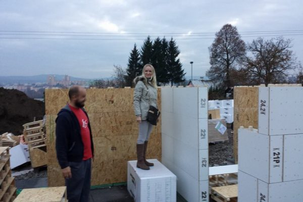 Výstavba RD Karlovy Vary II-dřevostavba domu svépomocí | 16 - 16