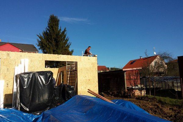 Výstavba RD Karlovy Vary II-dřevostavba domu svépomocí | 27 - 27