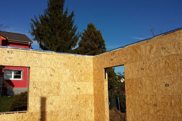 Výstavba RD Karlovy Vary II-dřevostavba domu svépomocí | 28 - 28
