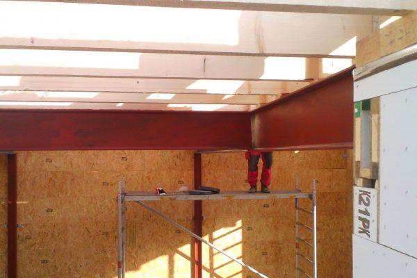 Výstavba RD Karlovy Vary II-dřevostavba domu svépomocí | 40 - 40
