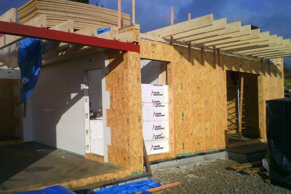 Výstavba RD Karlovy Vary II-dřevostavba domu svépomocí | 42 - 42