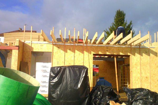 Výstavba RD Karlovy Vary II-dřevostavba domu svépomocí | 43 - 43