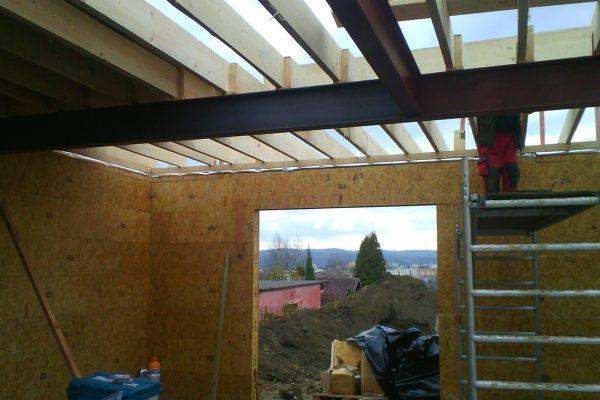 Výstavba RD Karlovy Vary II-dřevostavba domu svépomocí | 45 - 45