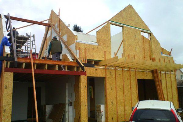 Výstavba RD Karlovy Vary II-dřevostavba domu svépomocí | 46 - 46