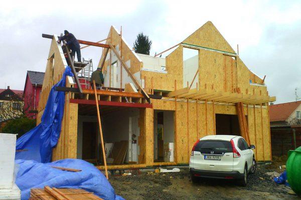 Výstavba RD Karlovy Vary II-dřevostavba domu svépomocí | 48 - 48