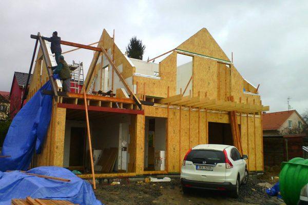 Výstavba RD Karlovy Vary II-dřevostavba domu svépomocí | 52 - 52