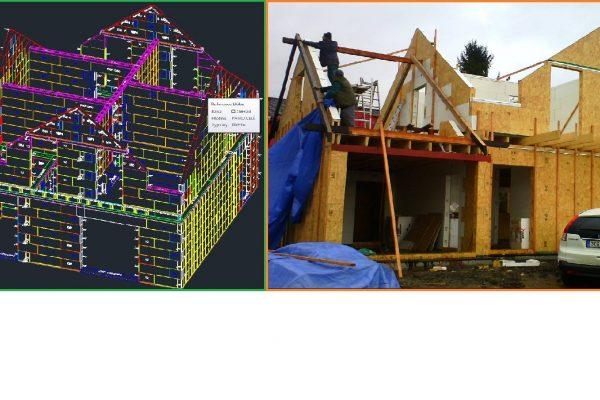 Výstavba RD Karlovy Vary II-dřevostavba domu svépomocí | 53 - 53